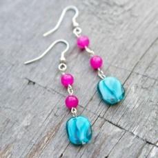 Teen/Tween Monthly Craft - Spring Earrings