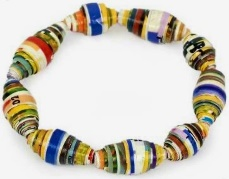 Teen/Tween Monthly Craft - Recycled Paper Bracelets