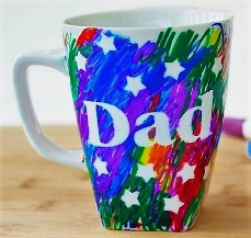 Teen/Tween Monthly Craft - Father's Day Ceramic Mugs