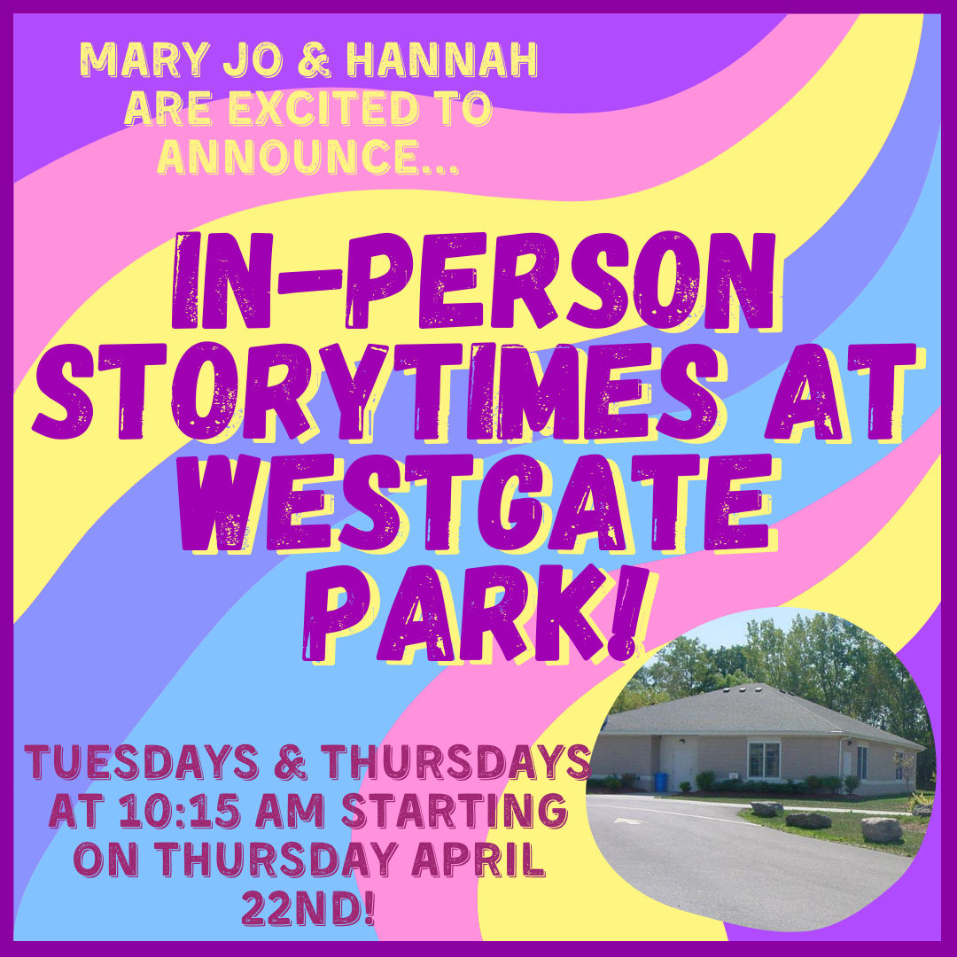 In-Person Storytime at the Park