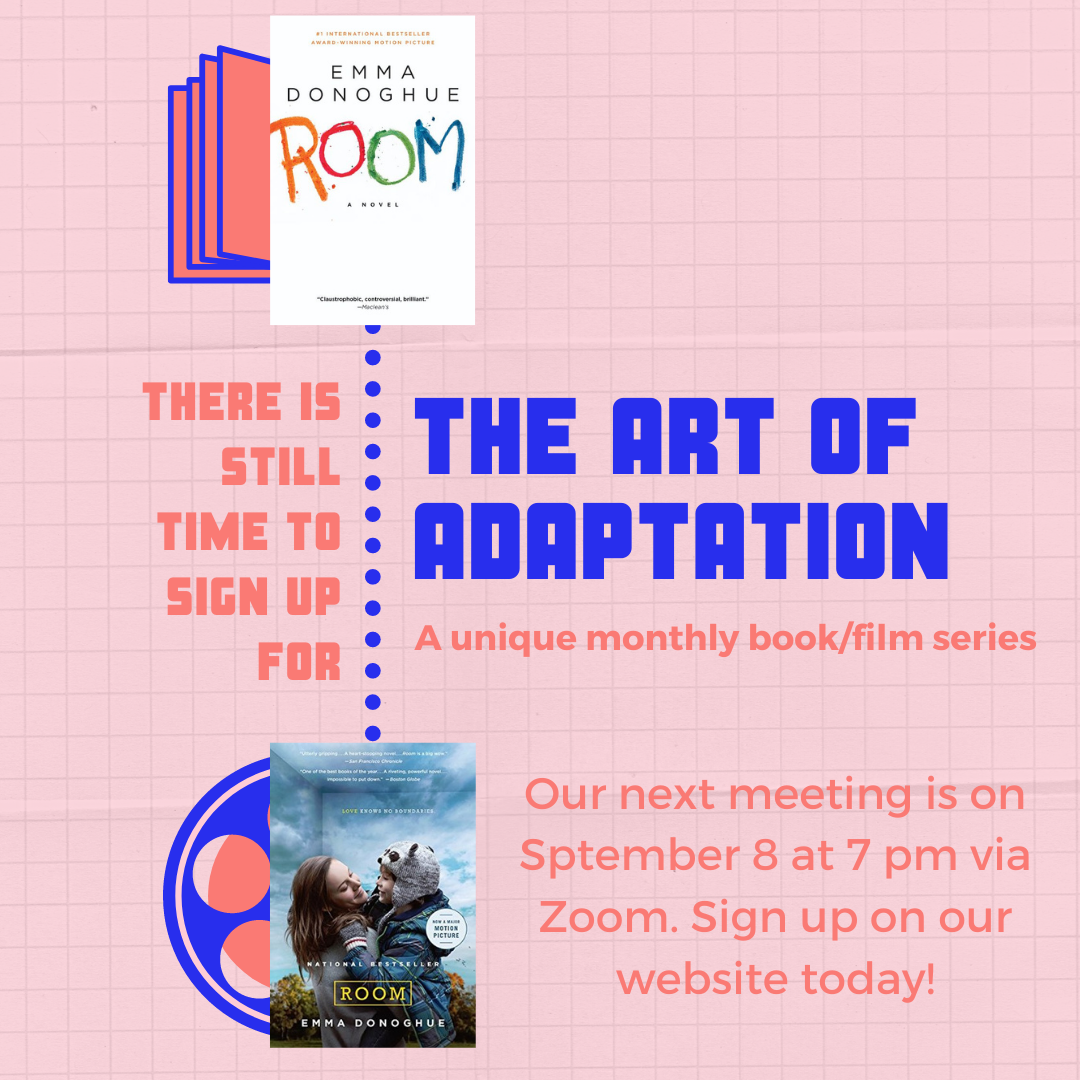 """The Art of Adaptation: Books to Movies -- """"Room"""""""
