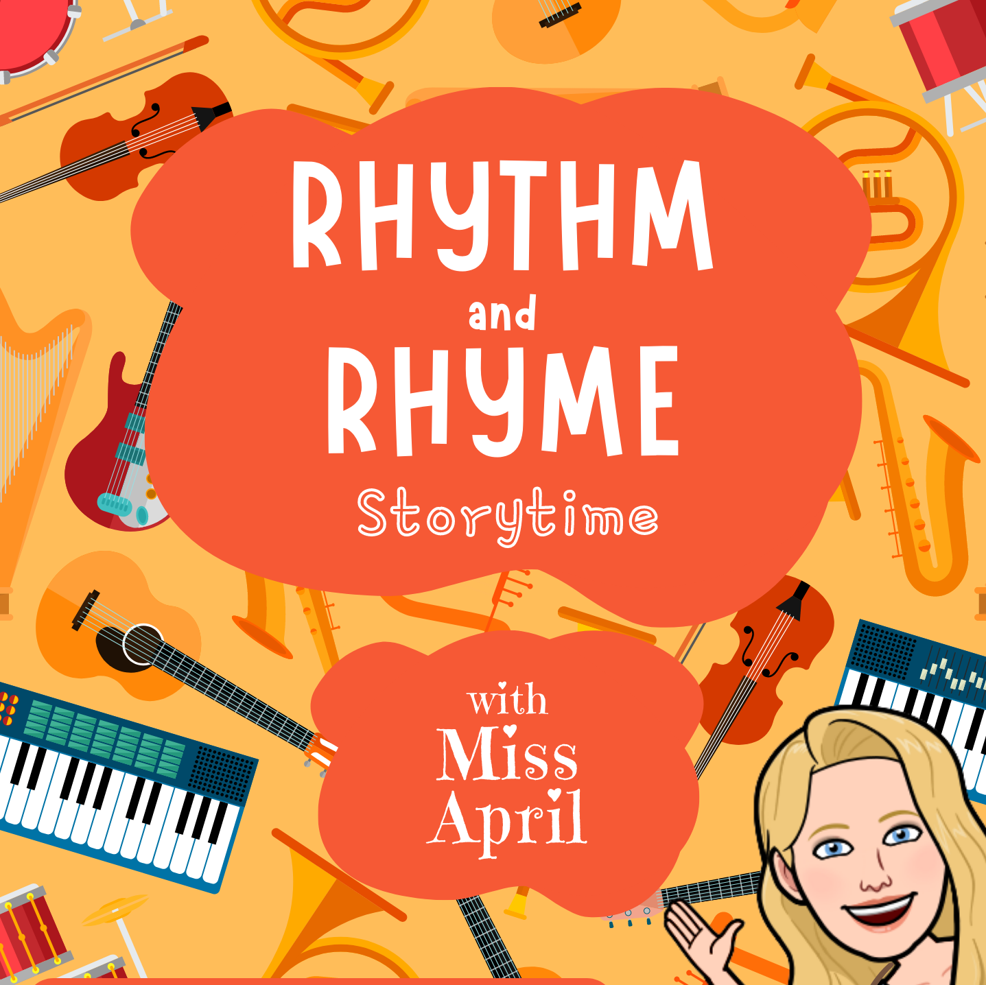 Rhythm and Rhyme Storytime!