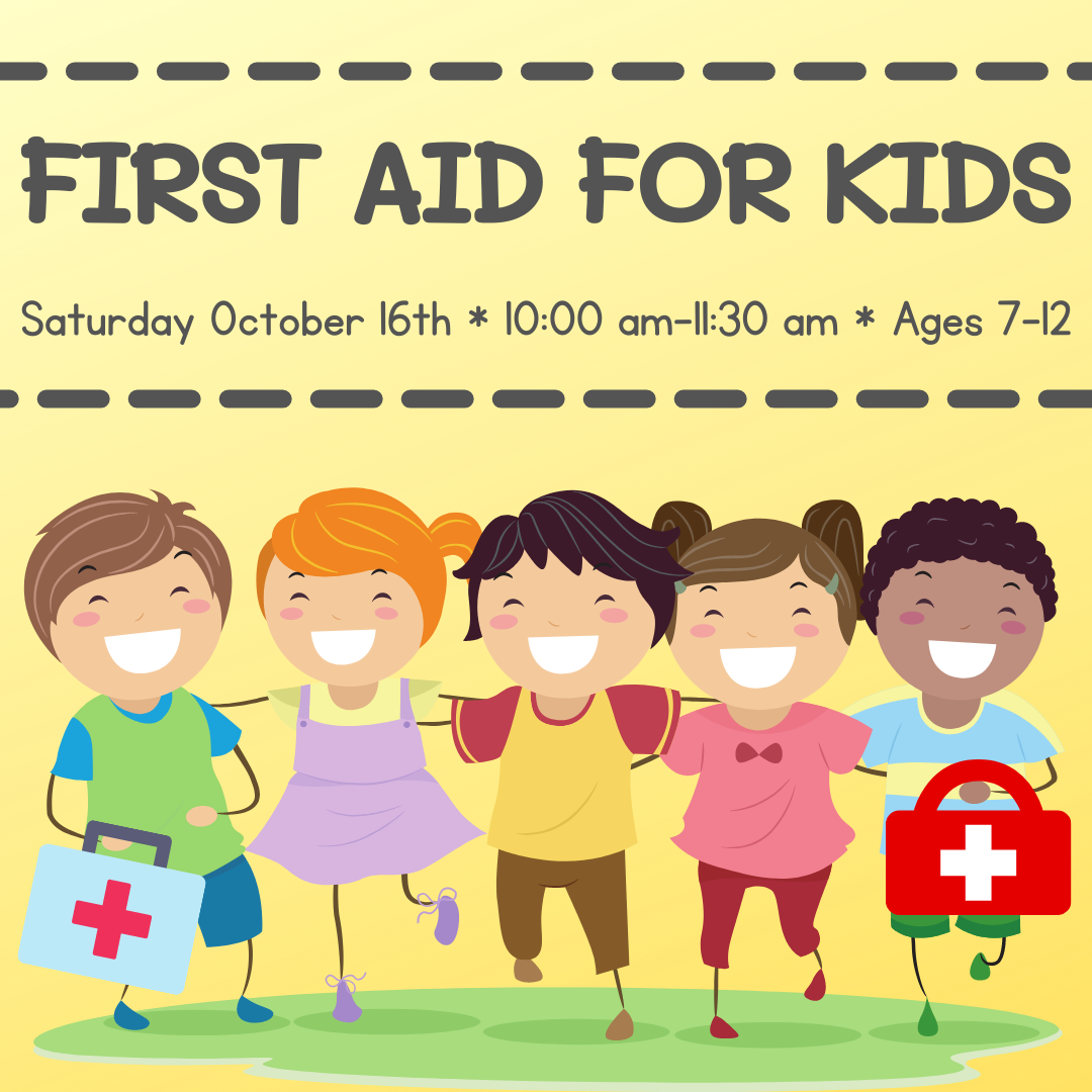 First Aid for Kids with EPIC trainings