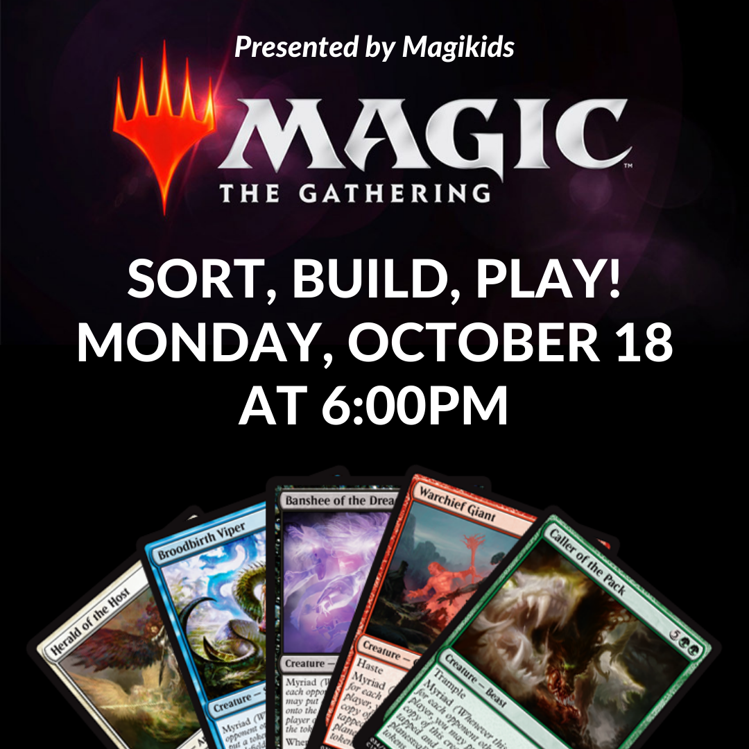 CANCELLED - Magic, The Gathering, Card Game Night