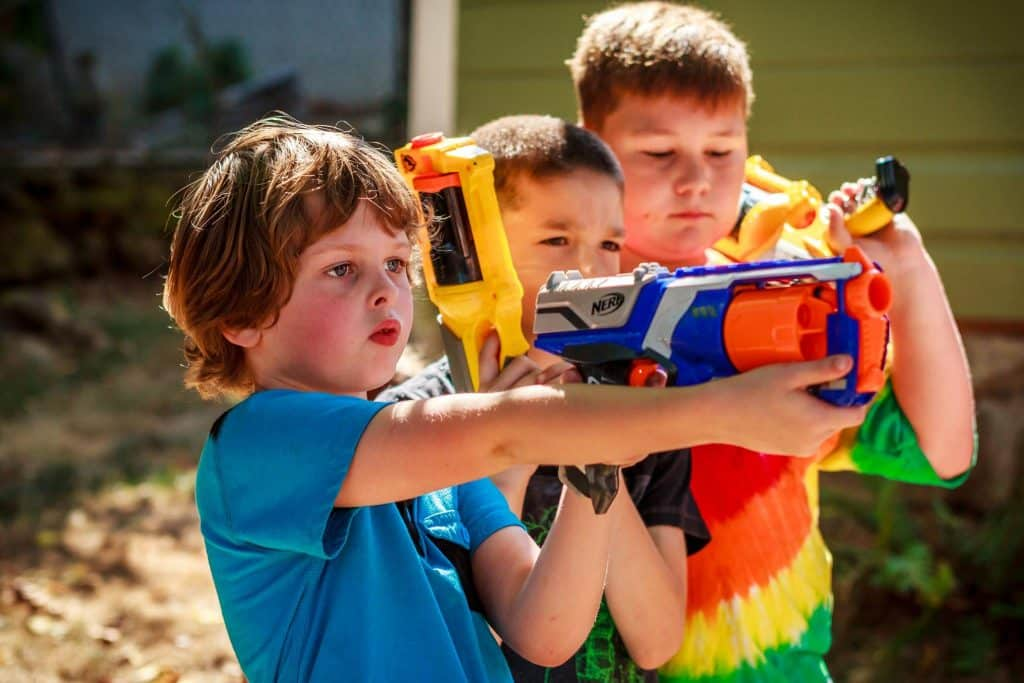 Our Community Rocks! Hamlin Recreation NERF Gun program