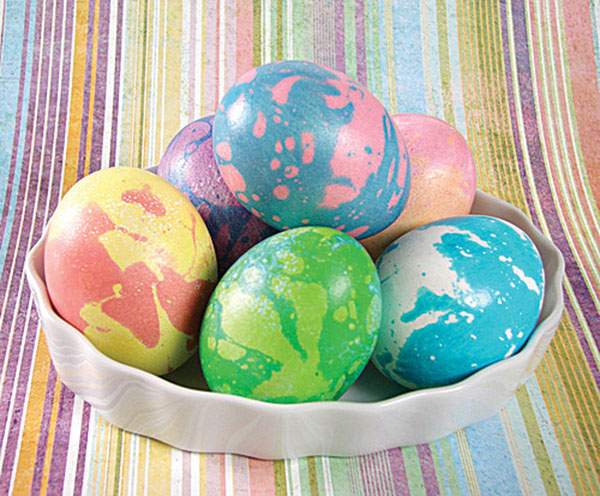 Decorated Easter Egg Craft