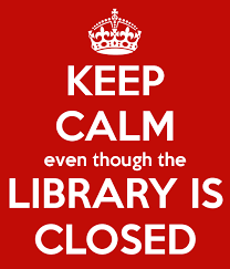 The Library will be closed on Saturdays for the month of August.