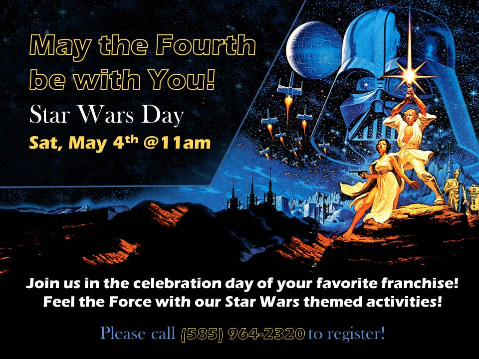May the Fourth be with You! Star Wars Day