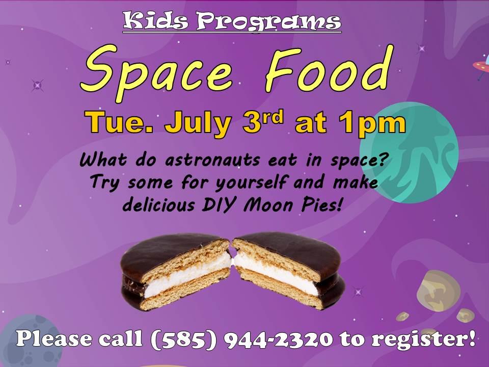 Space Food - DIY Moon Pies