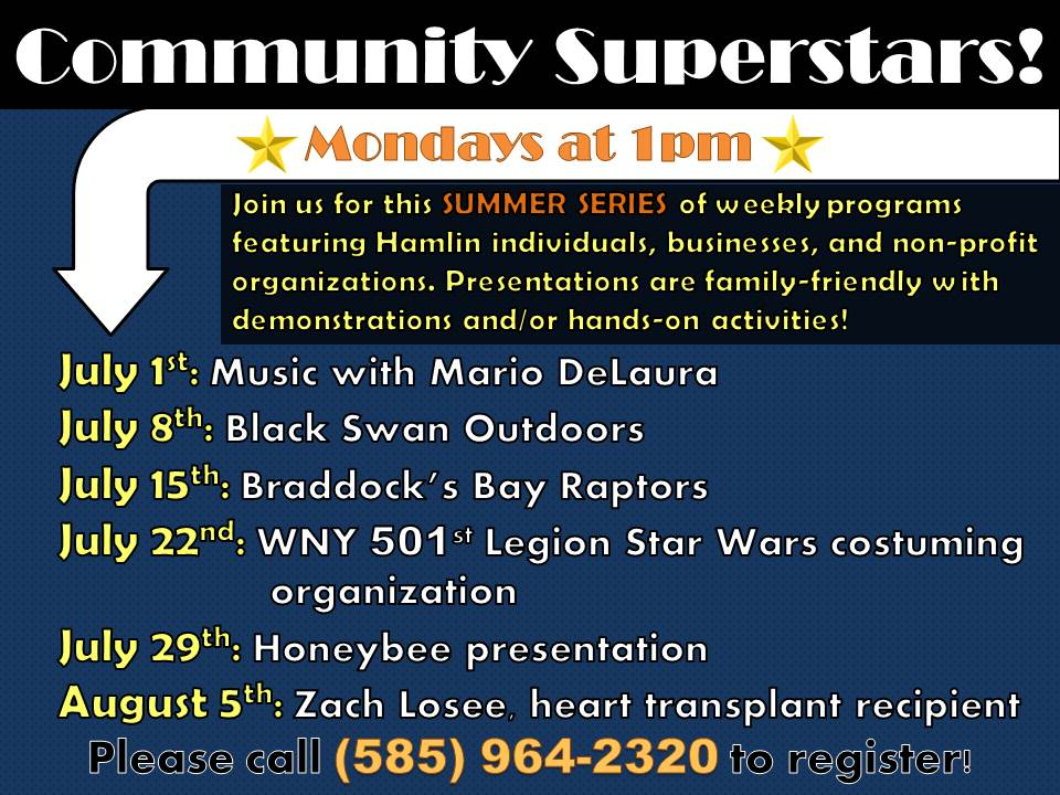 Community Superstars: A Celebration of Hamlin - Music with Mario DeLaura