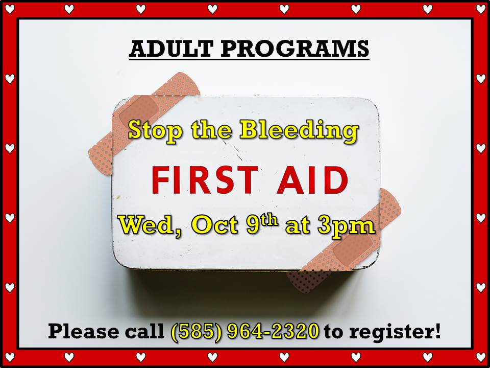 Stop the Bleeding (First Aid)