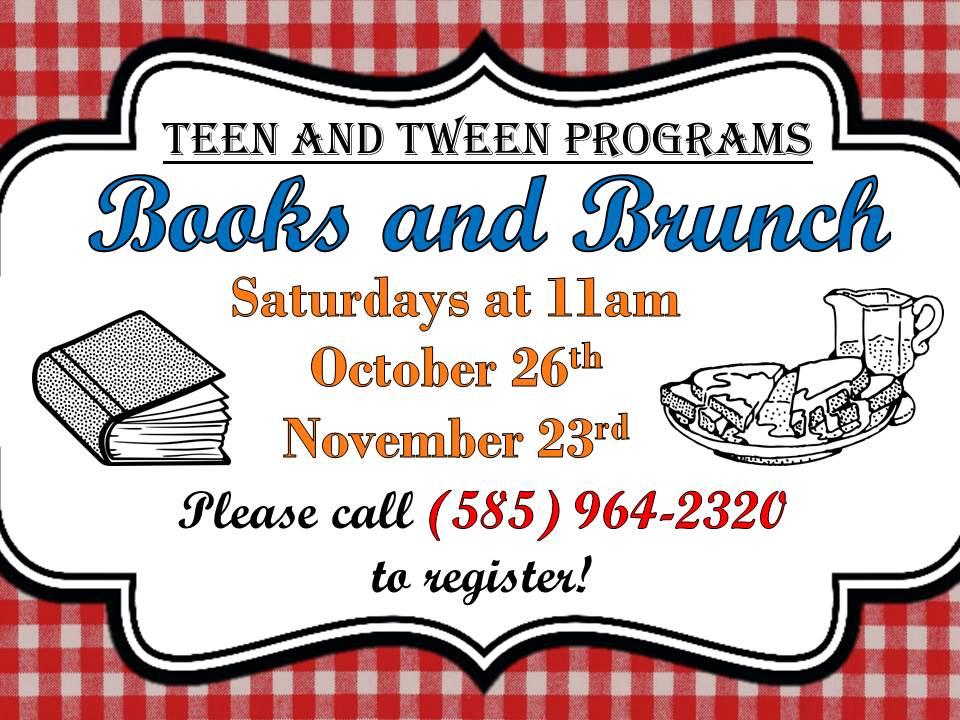 Teen & Tween Books and Brunch