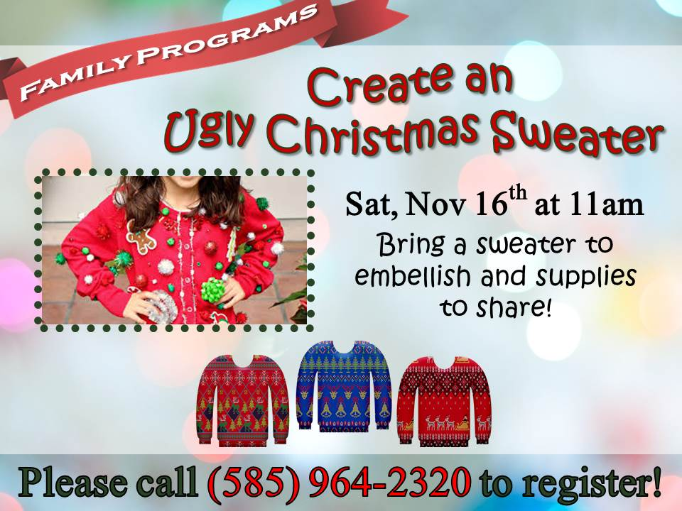 Create an Ugly Christmas Sweater