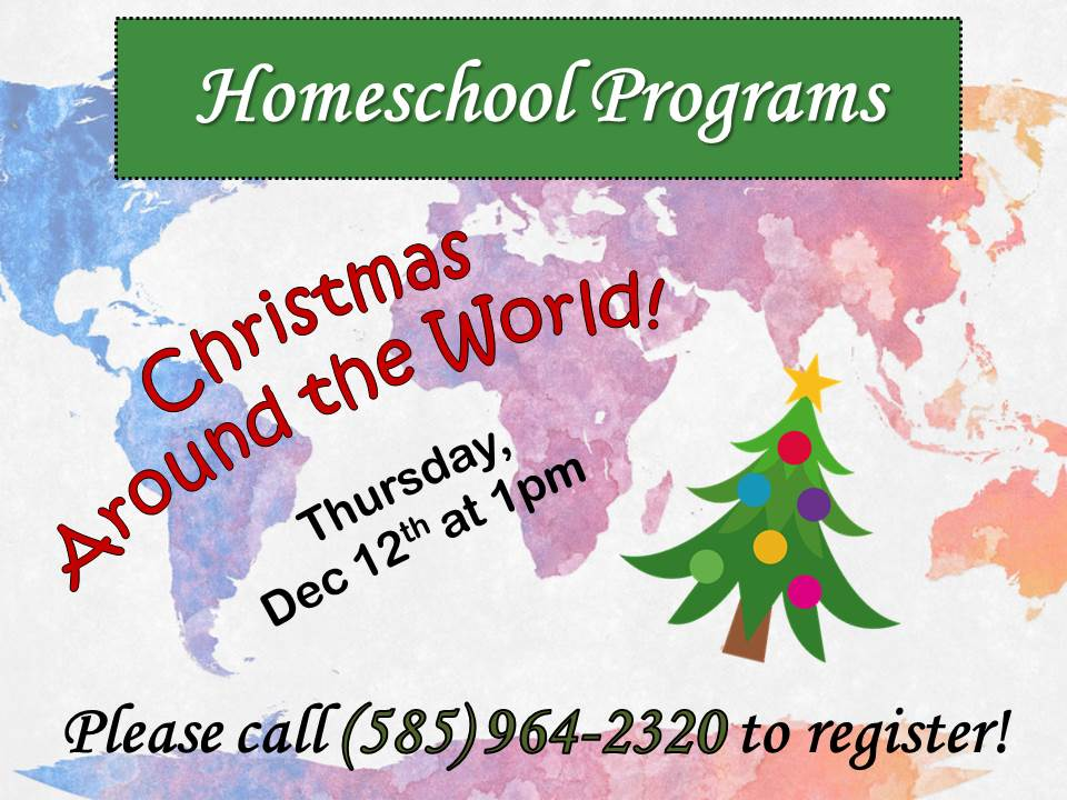 Homeschoolers @ the Library (Christmas Around the World)
