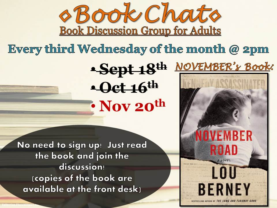 Book Chat (Adult Book Club)