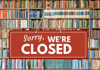 Library is closed for the Memorial Day