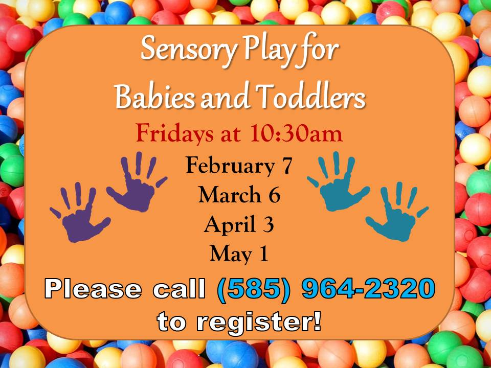 Sensory Play for Babies + Toddlers