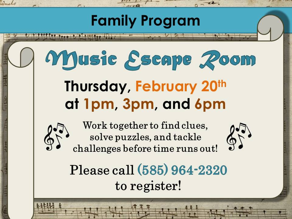 Music Escape Room