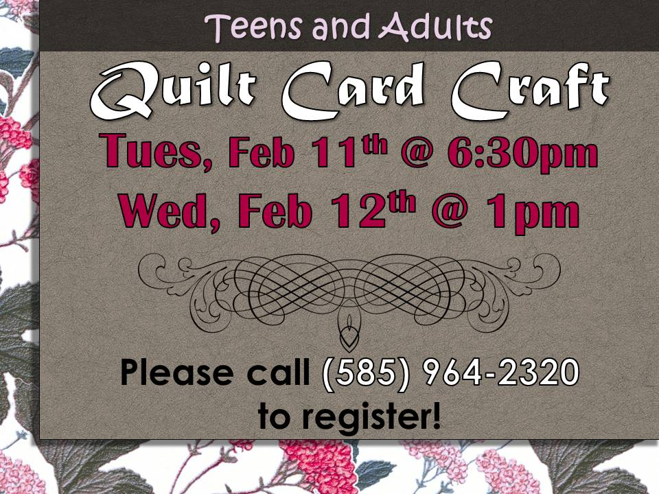 Quilt card Craft