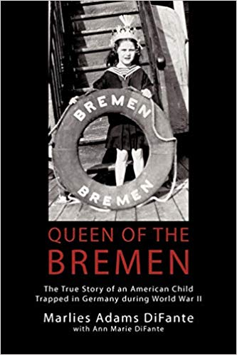 Local author Marlies DiFante will be sharing about her book, Queen of the Breman
