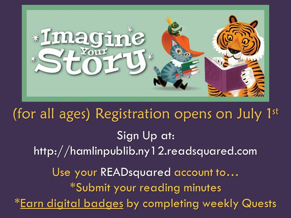 Imagine Your Story  2020 Summer Reading begins