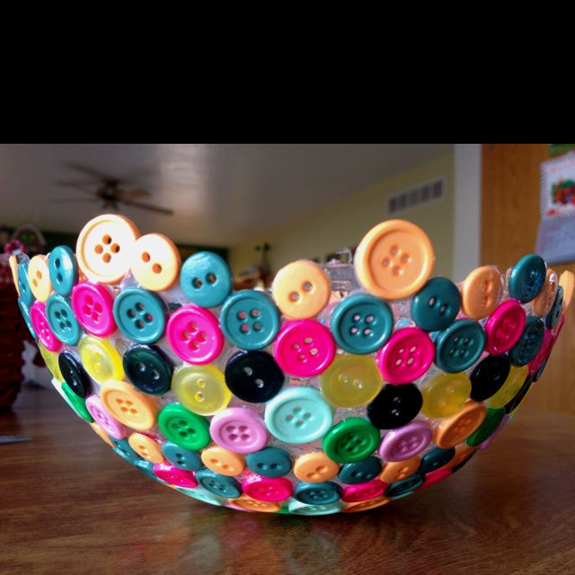 TEEN: DIY Button Bowls!