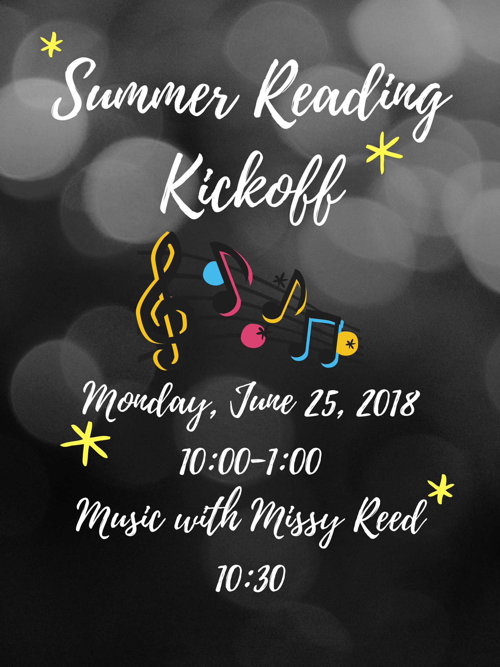 Summer Reading Kickoff!