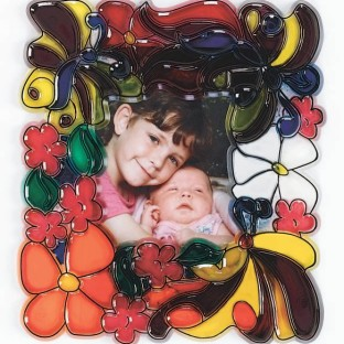 Make a Stained Glass Picture Frame