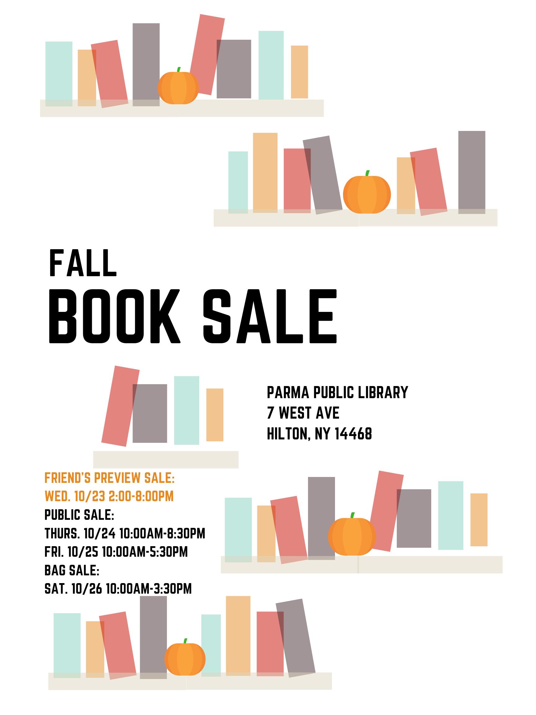 Book Sale!