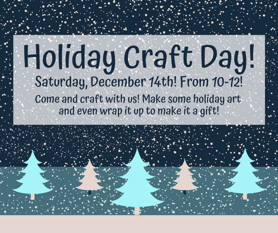 Holiday Craft Day for Kids!