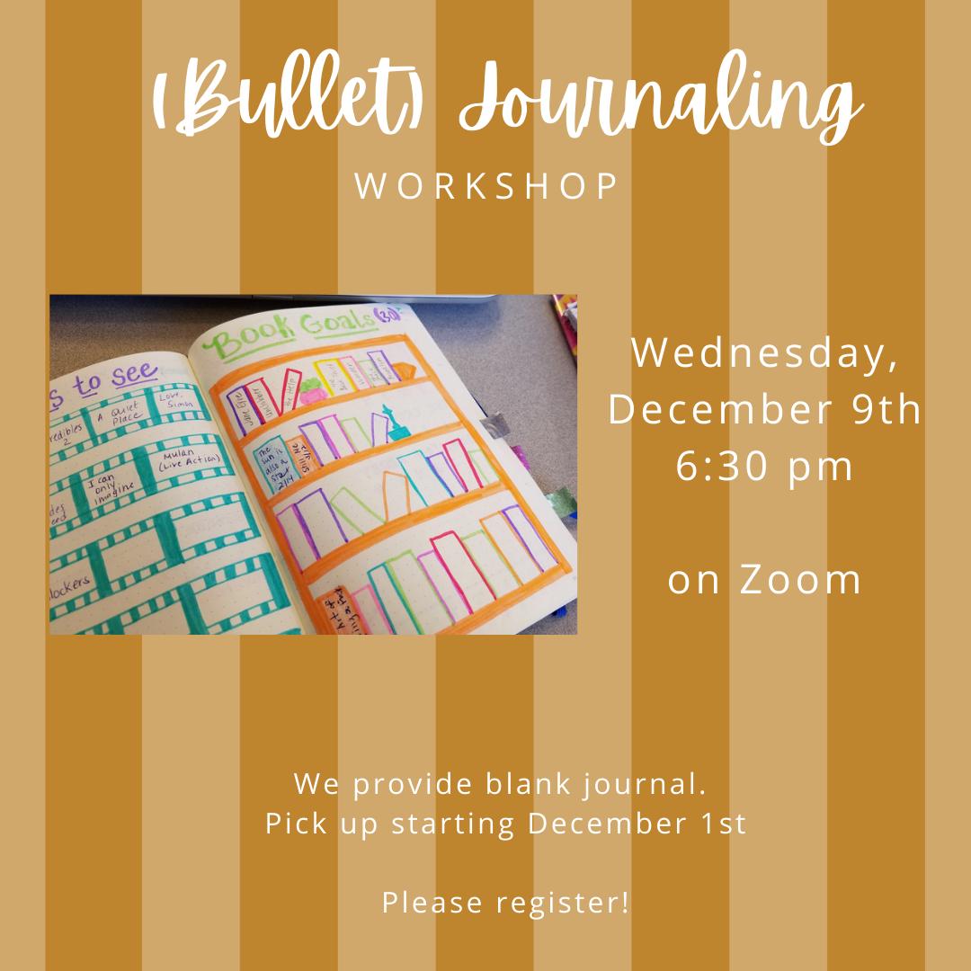 Creative Bullet Journaling-VIRTUAL