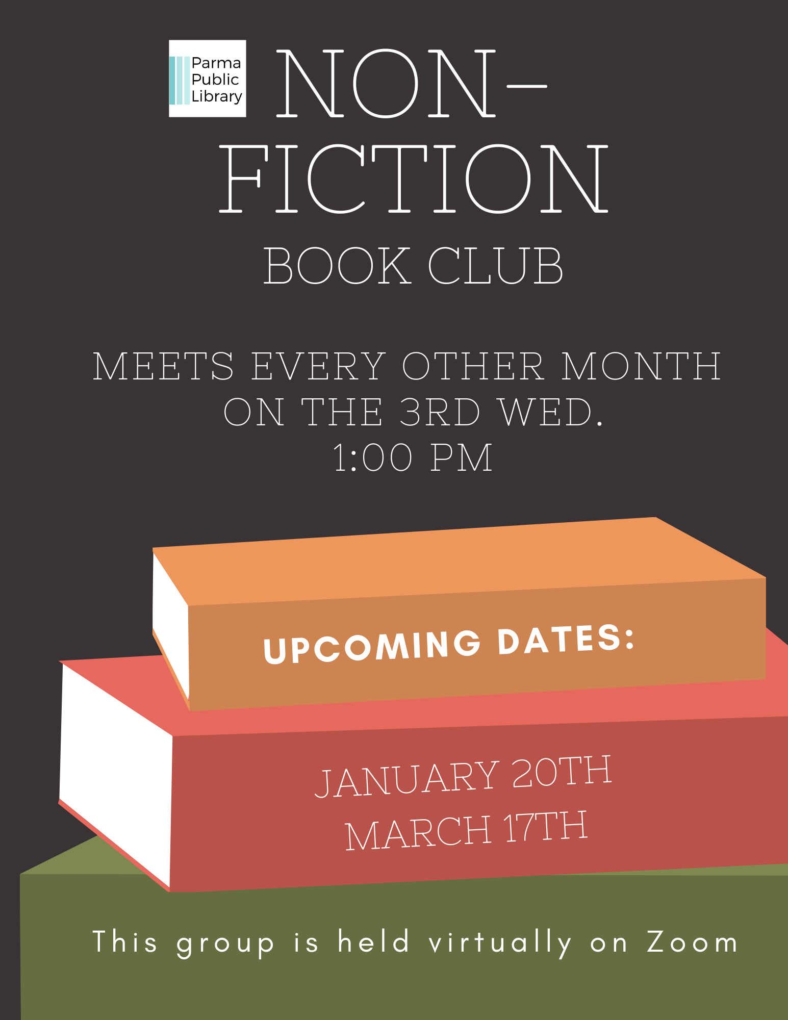 Non-Fiction Book Club VIRTUAL