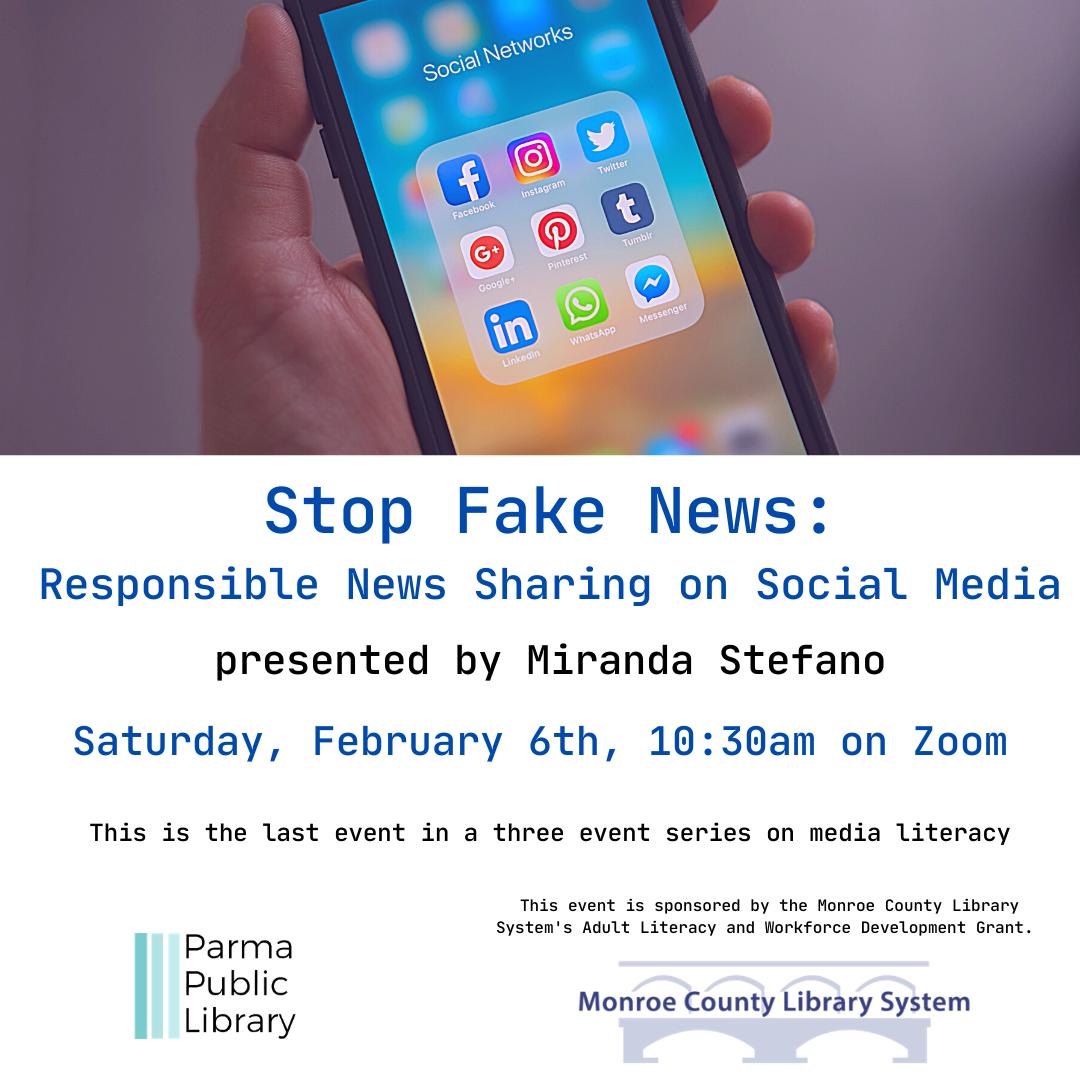 Stop Fake News: Responsible Sharing on Social Media