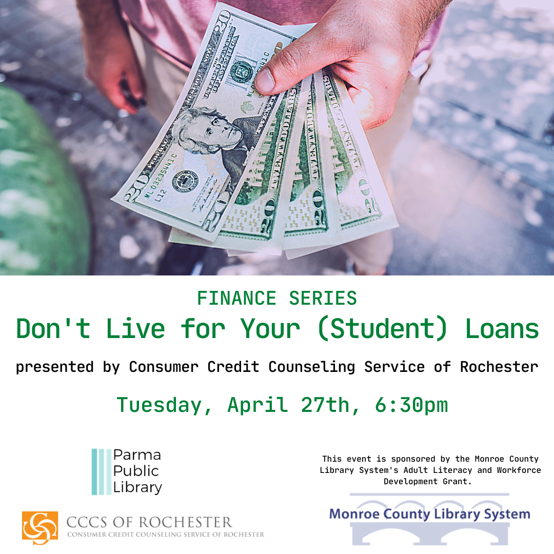 Don't Live for Your (Student) Loans-VIRTUAL