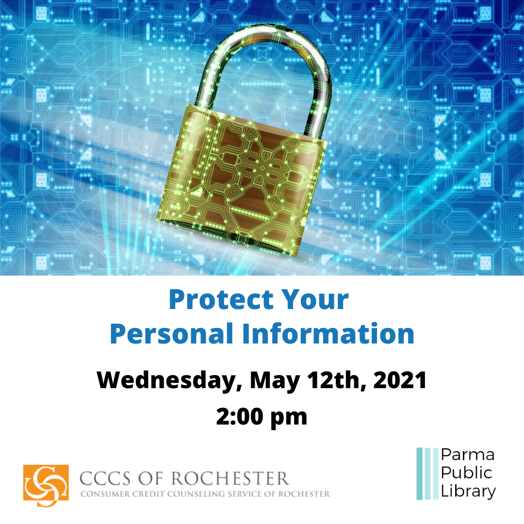 Protecting Your Personal Information-IN PERSON