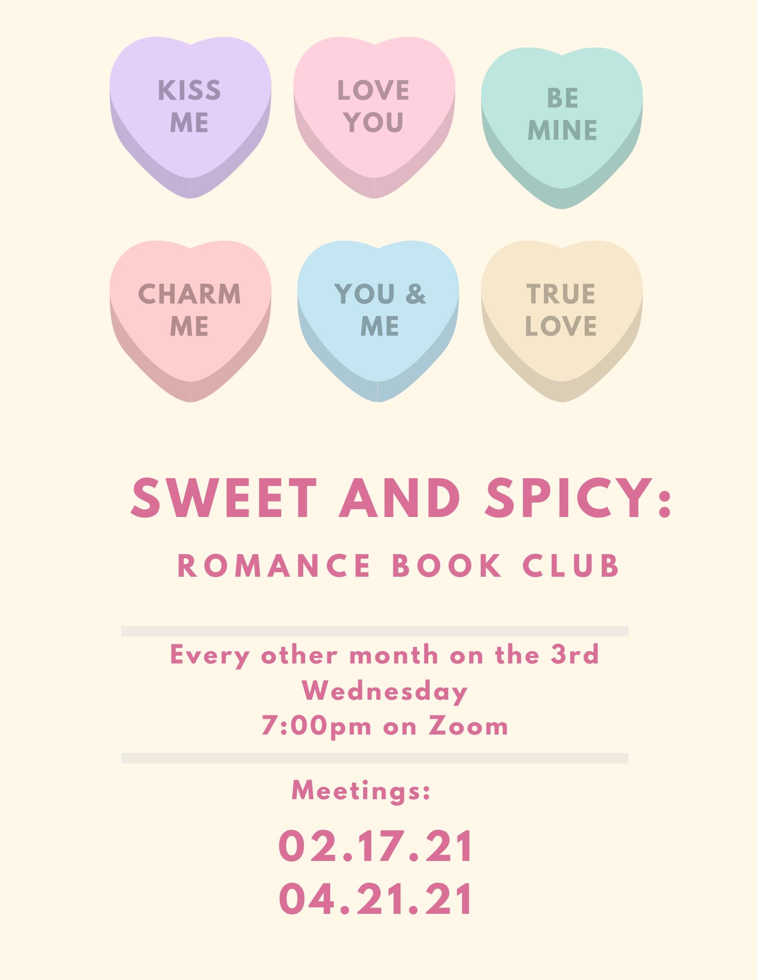 Sweet & Spicy: Romance Book Club