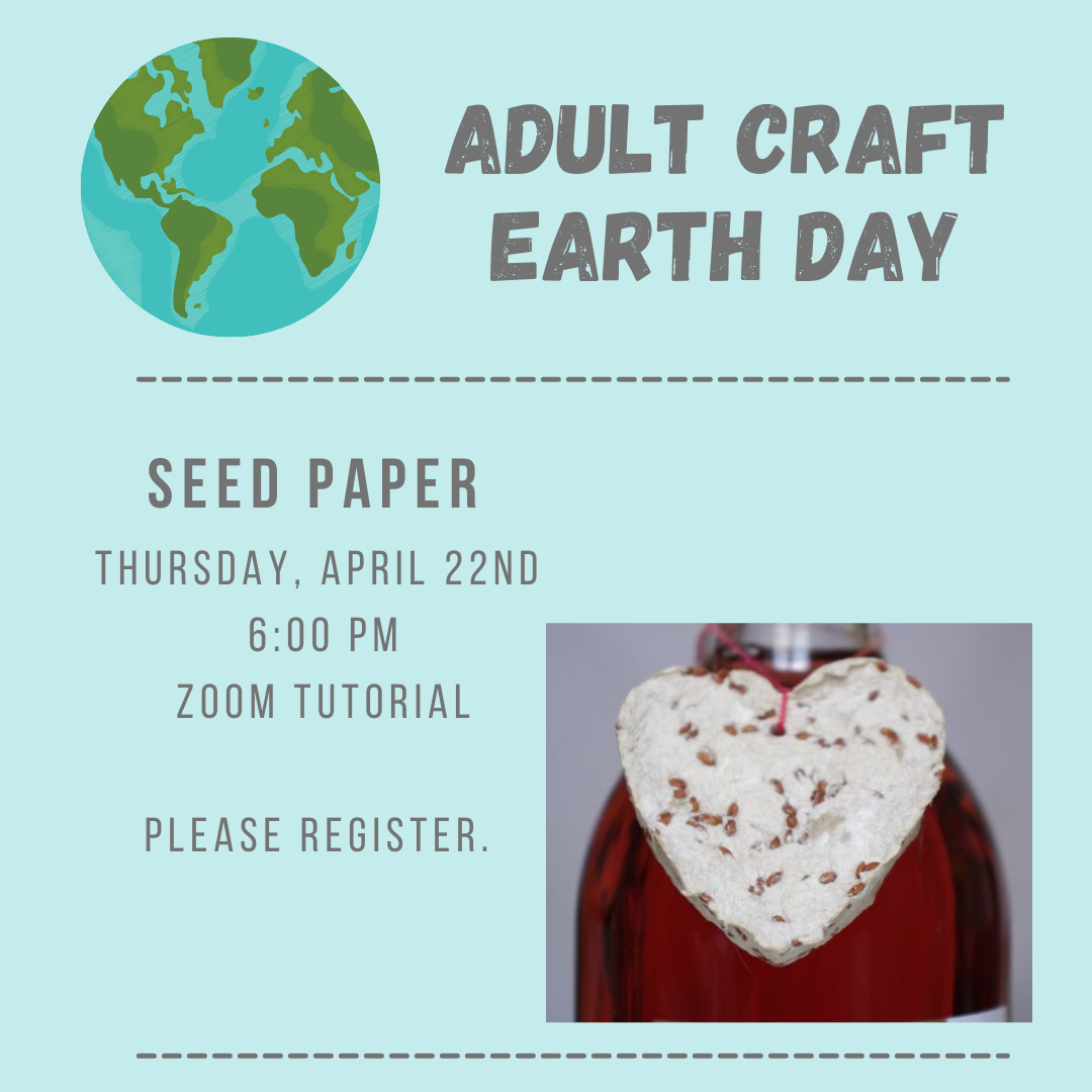 Adult Craft: Seed Paper -VIRTUAL