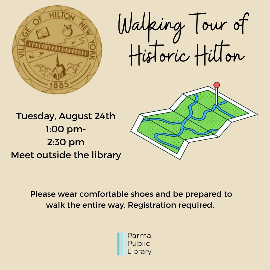 Walking Tour of Historic Hilton-IN PERSON
