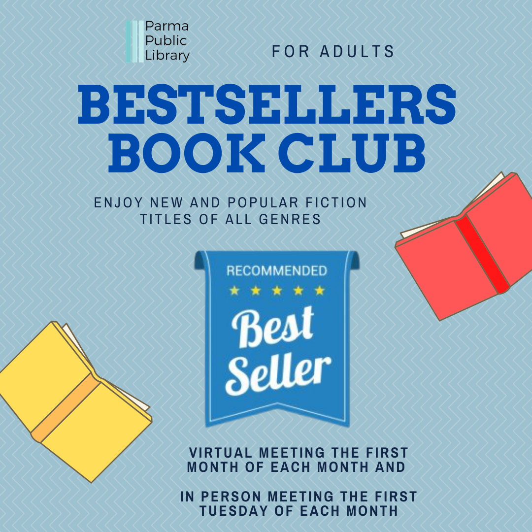 Bestsellers Book Club (Title TBD) -IN PERSON