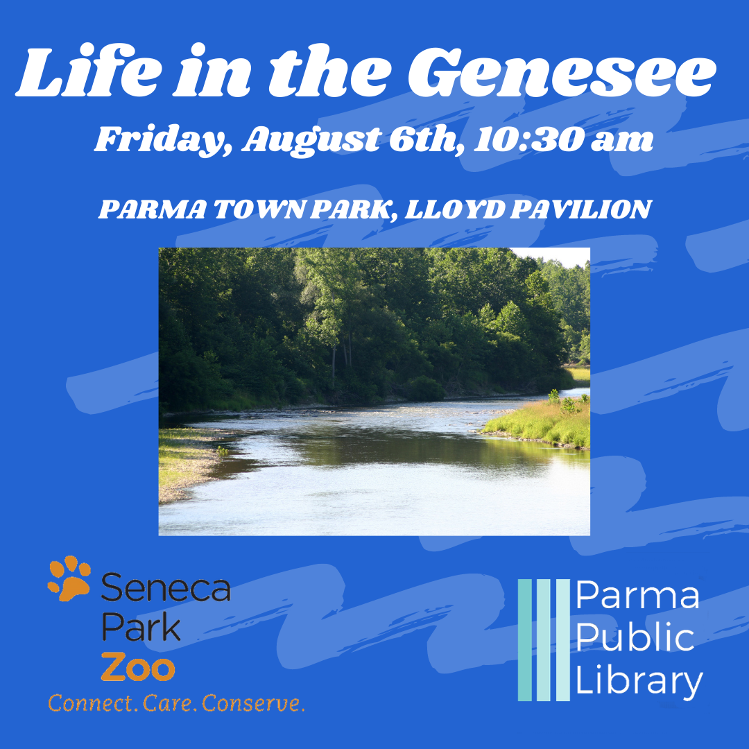 Life in the Genesee River-IN PERSON