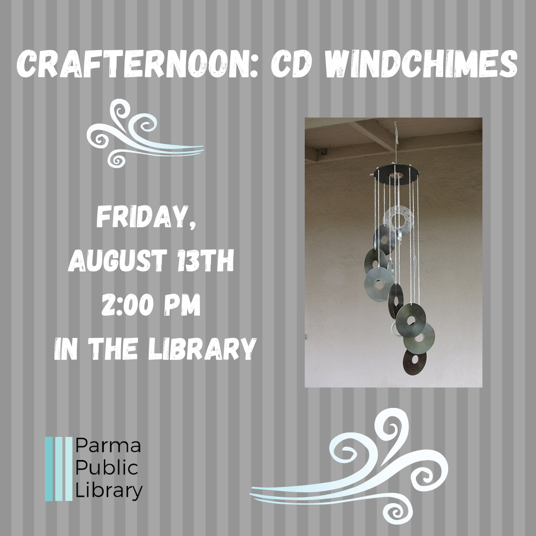 Crafternoon: CD Windchimes- IN PERSON