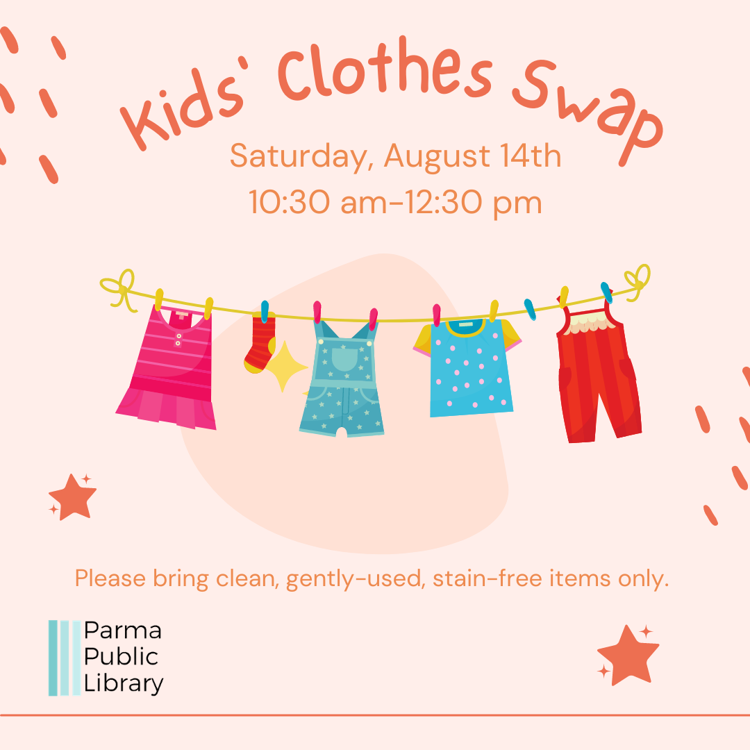 Kids' Clothes Swap-IN PERSON