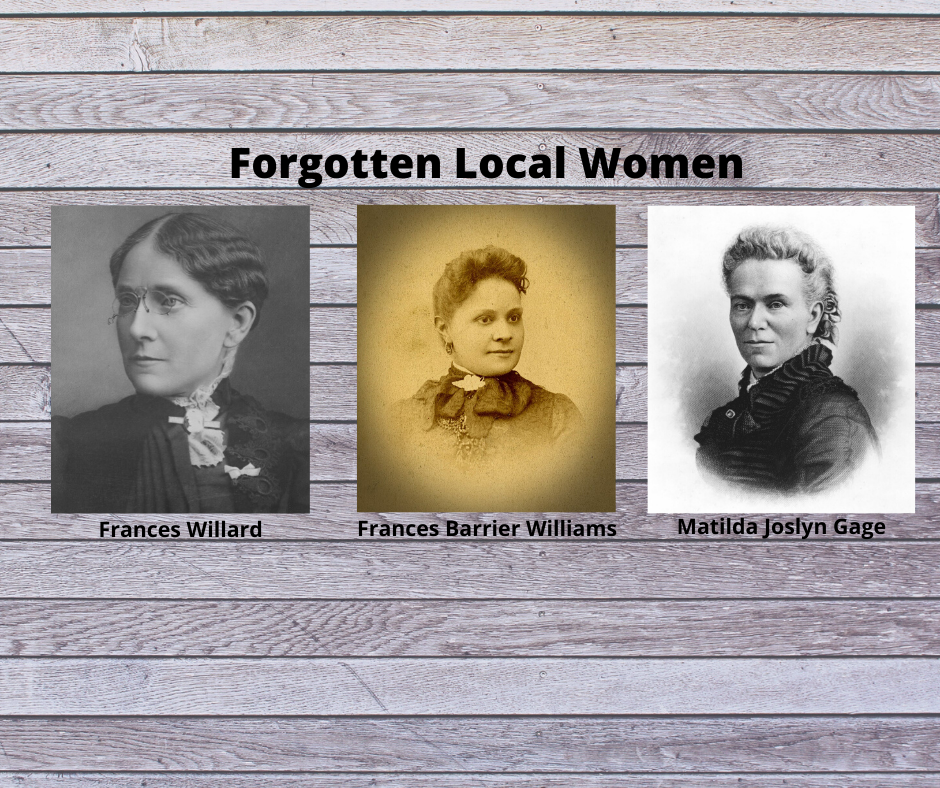 POSTPONED:  Forgotten Local Women Presentation