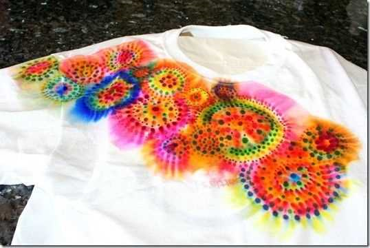 Teen Craft: Sharpie Tie Dye T-Shirt