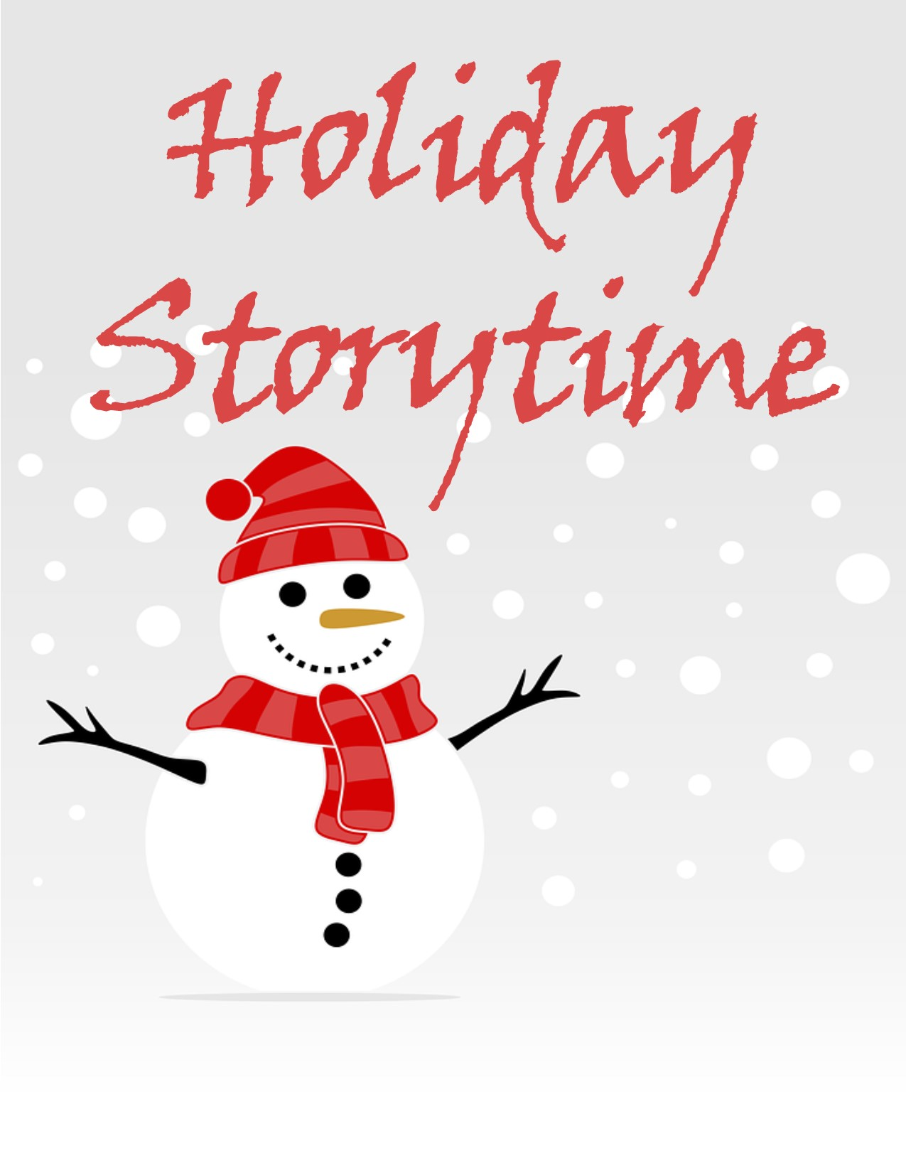 Holiday Story Time