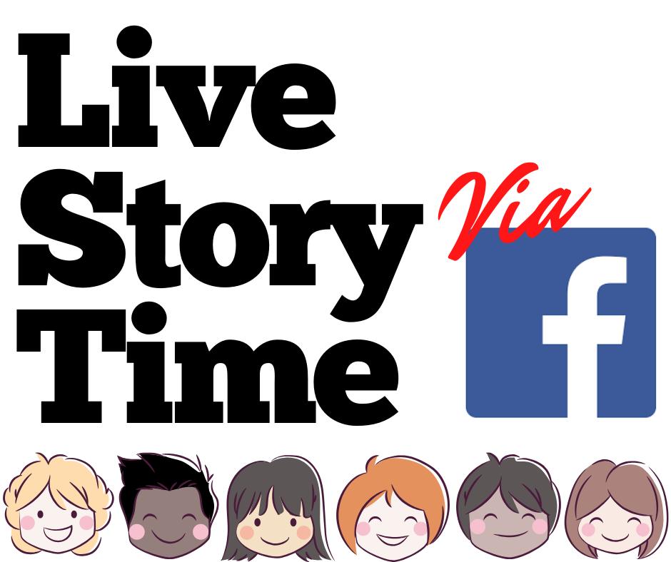 Live Story Time via Facebook
