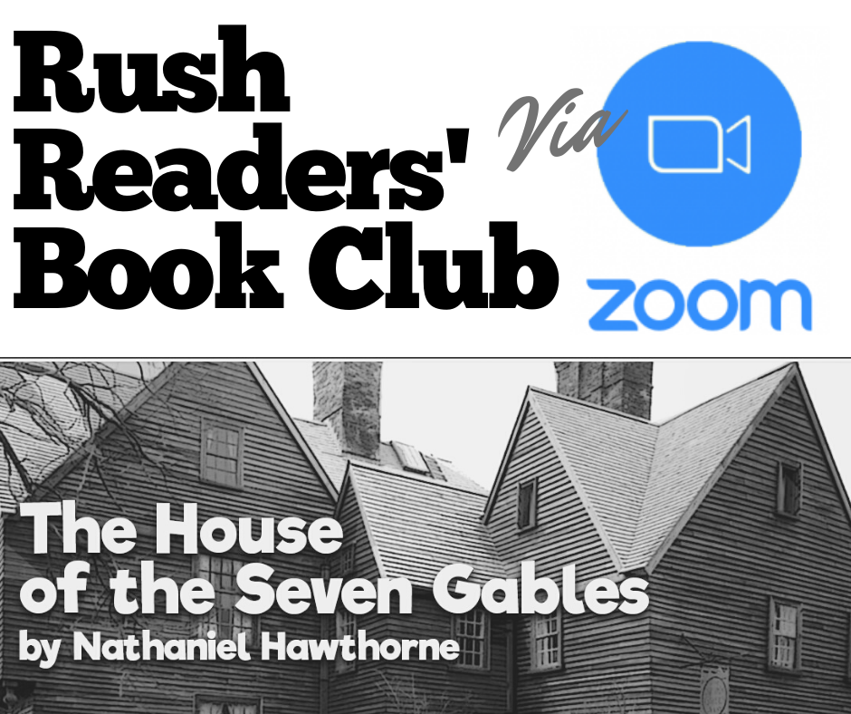 Rush Readers' Book Club CANCELLED