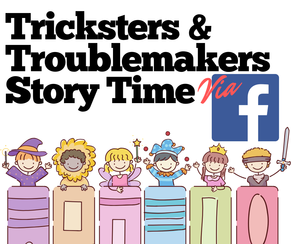 Tricksters and Troublemakers via Facebook Live
