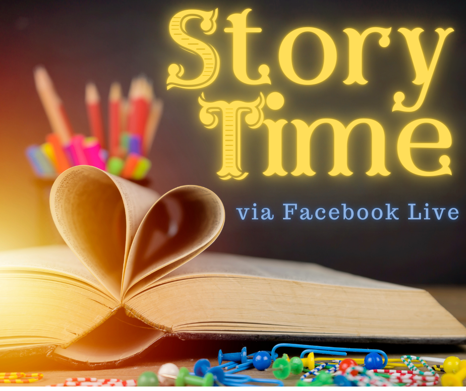 Story Time via Facebook Live