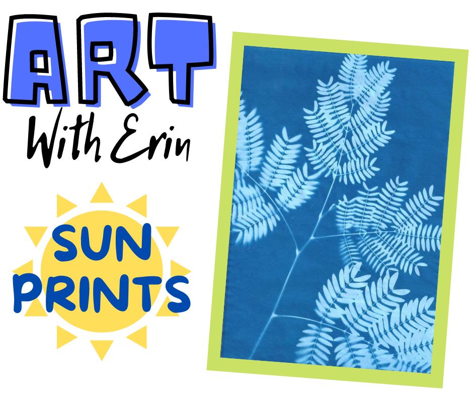 Art with Erin: Sun Prints